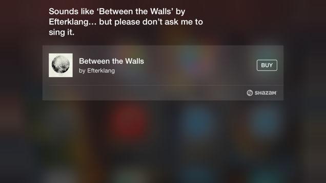 Apple Siri Shazam Feature