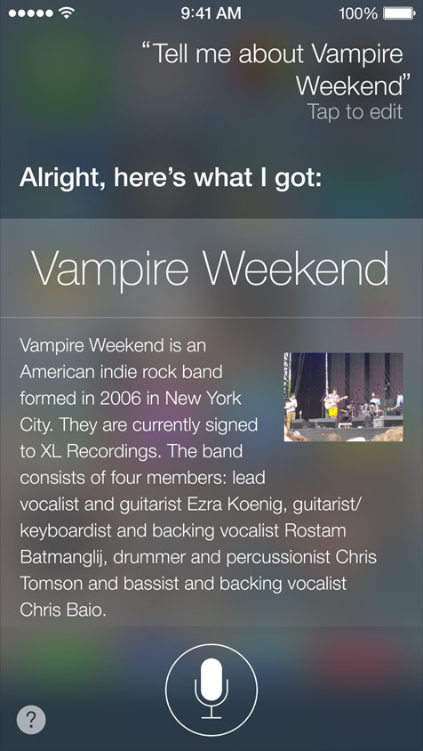 Siri As encyclopedia
