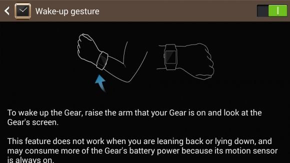 Galaxy Gear Interface