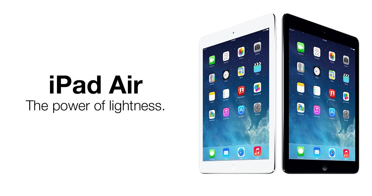 Apple's best Tablet, the iPad Air