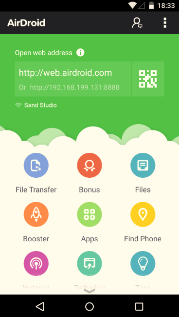 Airdroid-3-Android-app-interface