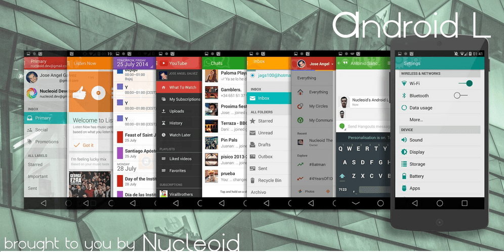 Cyanogenmod Android l theme
