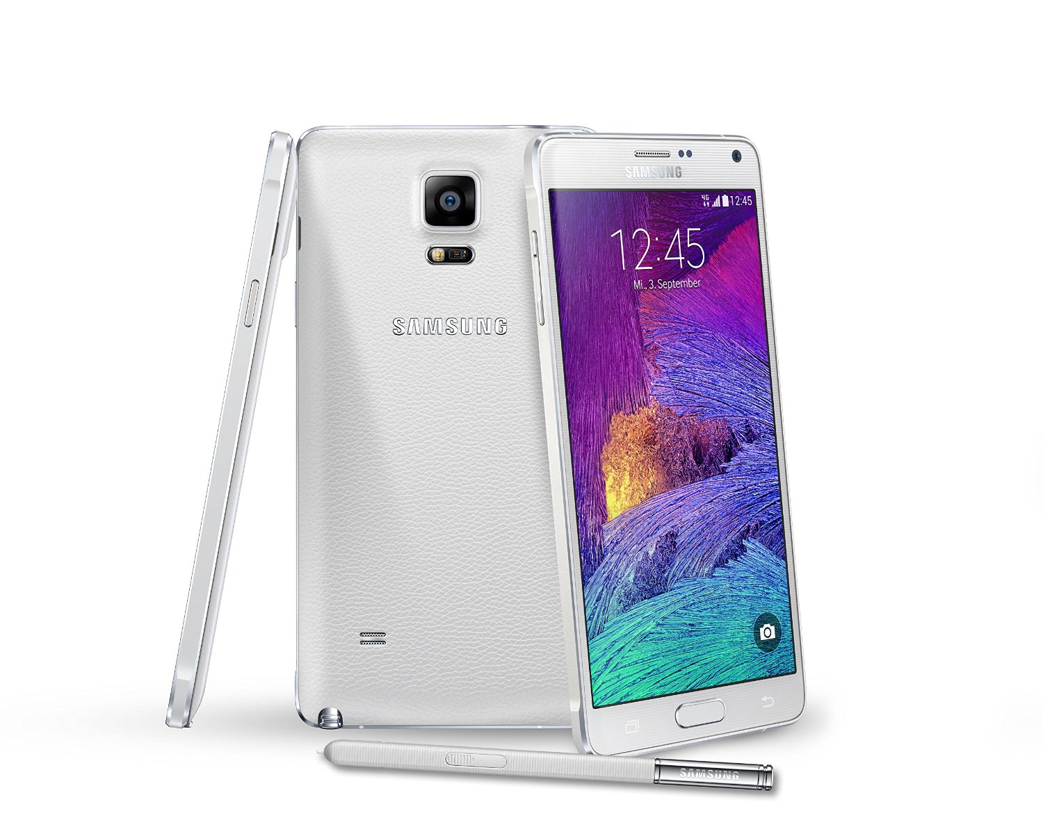 samsung galaxy note 4 n910a white at t unlocked t mobile. Black Bedroom Furniture Sets. Home Design Ideas