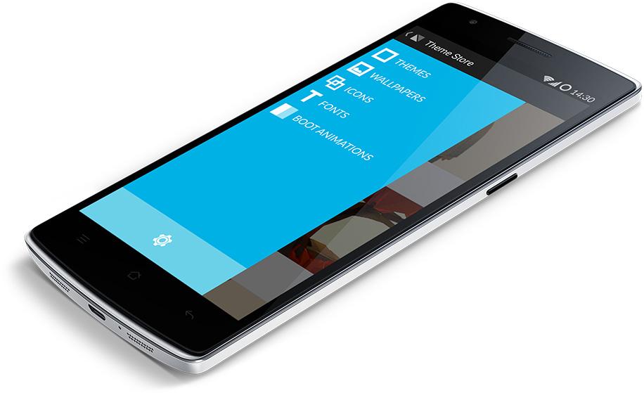 oneplus one Cyanogenmod 11 theme store