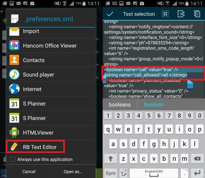 How to enable WhatsApp calling feature on Android 5.0 Lollipop and higher Step-3- open browser in root