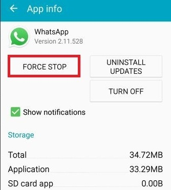 How to enable WhatsApp call feature on Android 5.0 Lollipop and higher Step-4
