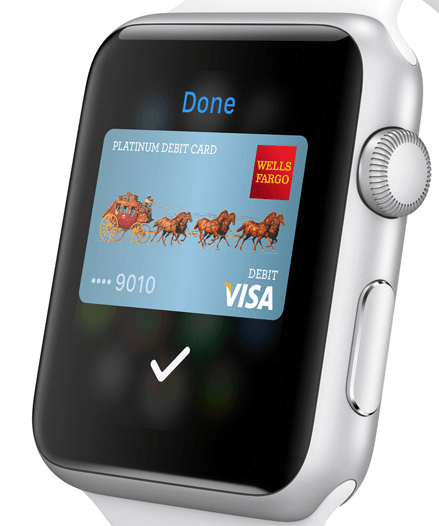 Apple Pay mobile payment works with the Watch