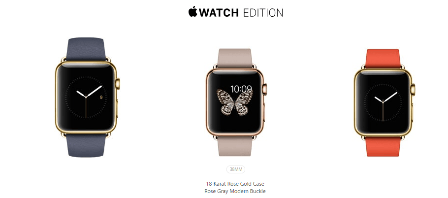 Apple Watch Edition Collection