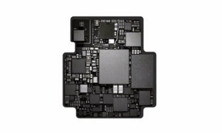 Apple Watch S1 chip as shown in the demo video by Apple