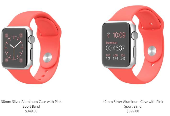 Apple Watch Sport Pricing