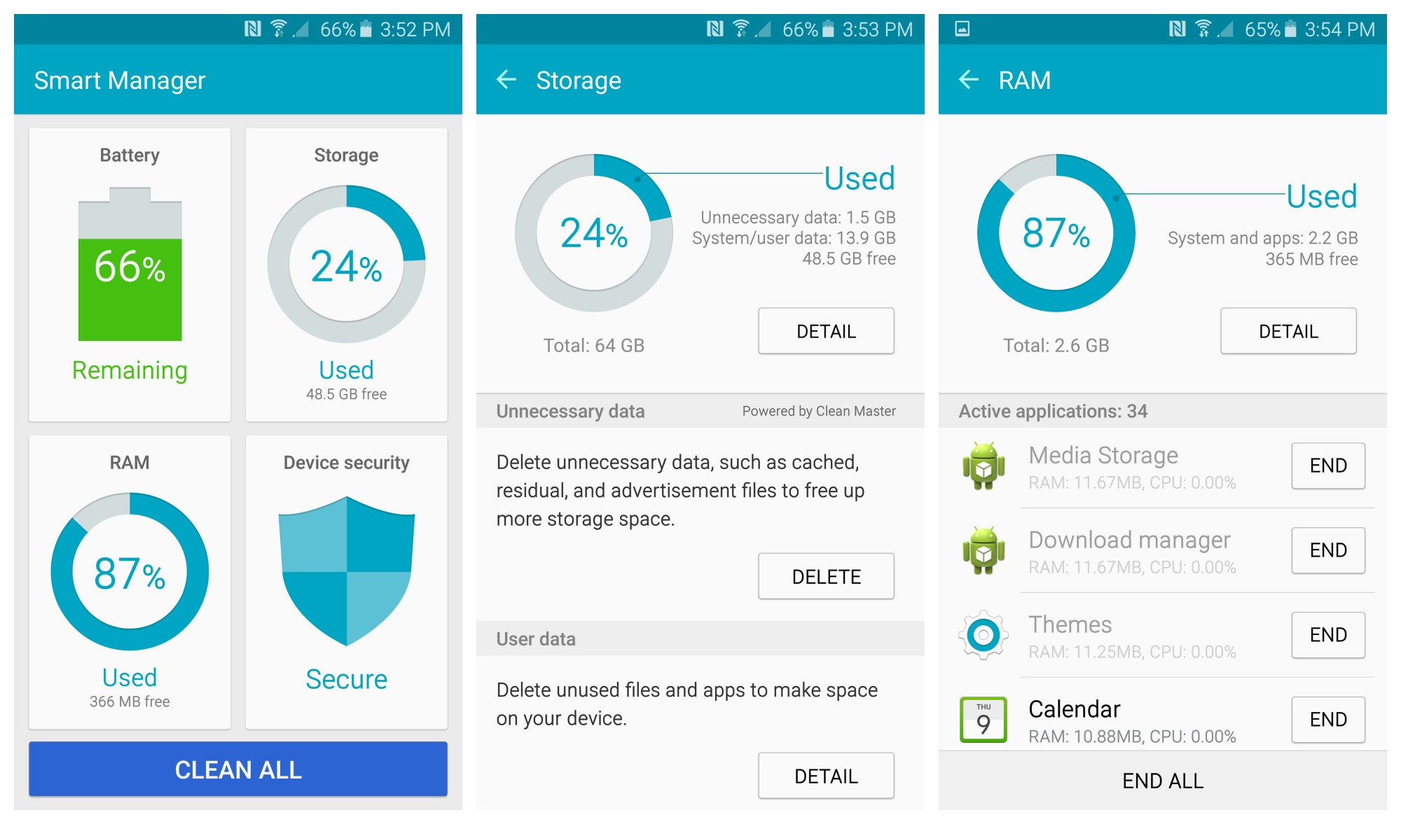 Best tips and tircks to use Samsung Galaxy S6 Smart Manager app