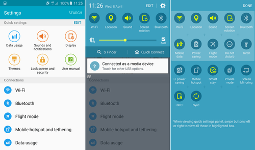 Samsung Galaxy S6 tips to use TouchWiz