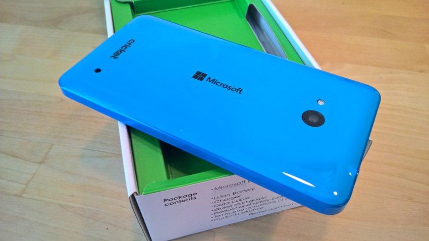Microsoft Lumia 640 unboxing
