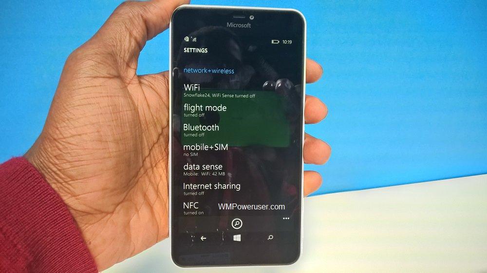 microsoft lumia 640 windows Phone 8.1 update 2