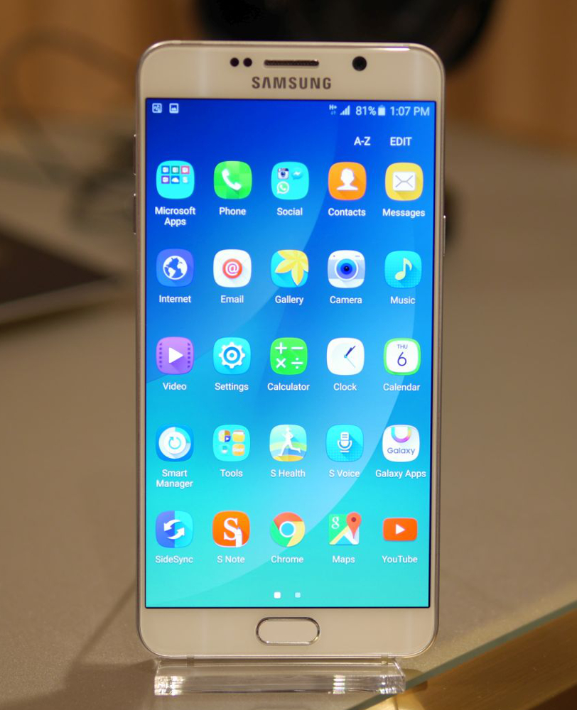 Galaxy Note 5 feautres a New-TouchWiz