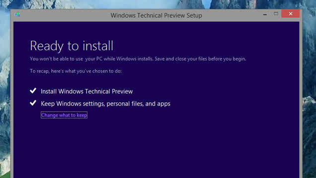 Ready to install Windows 10 on your PC