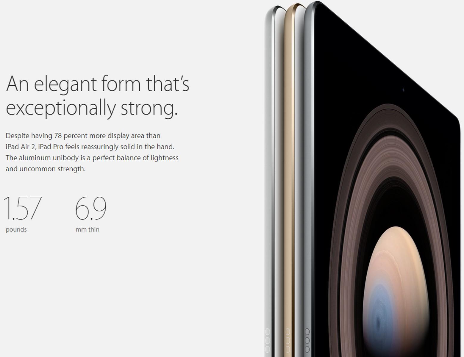 Apple-iPad-Pro dimensions