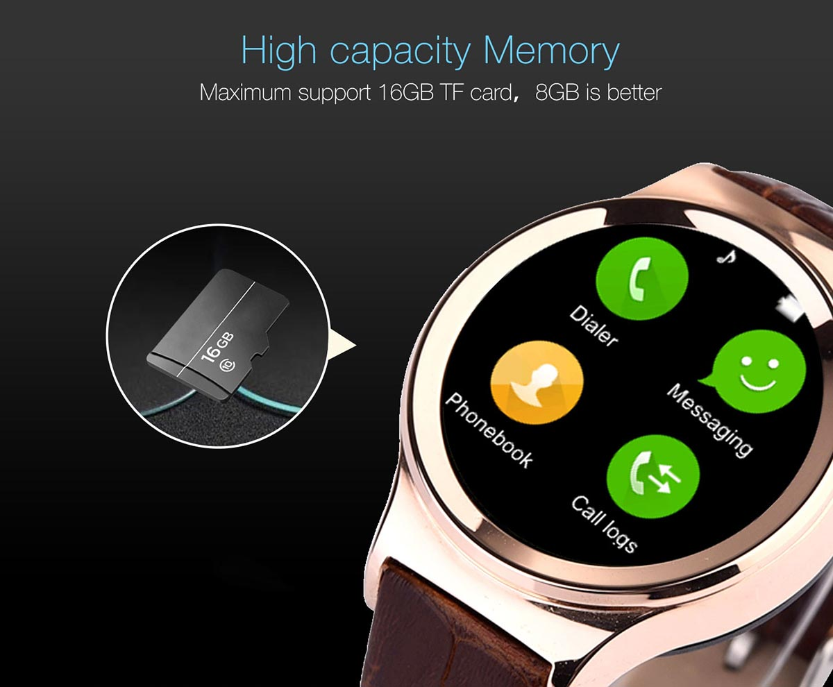 The No. 1 T3 smart watch Phone supports SD
