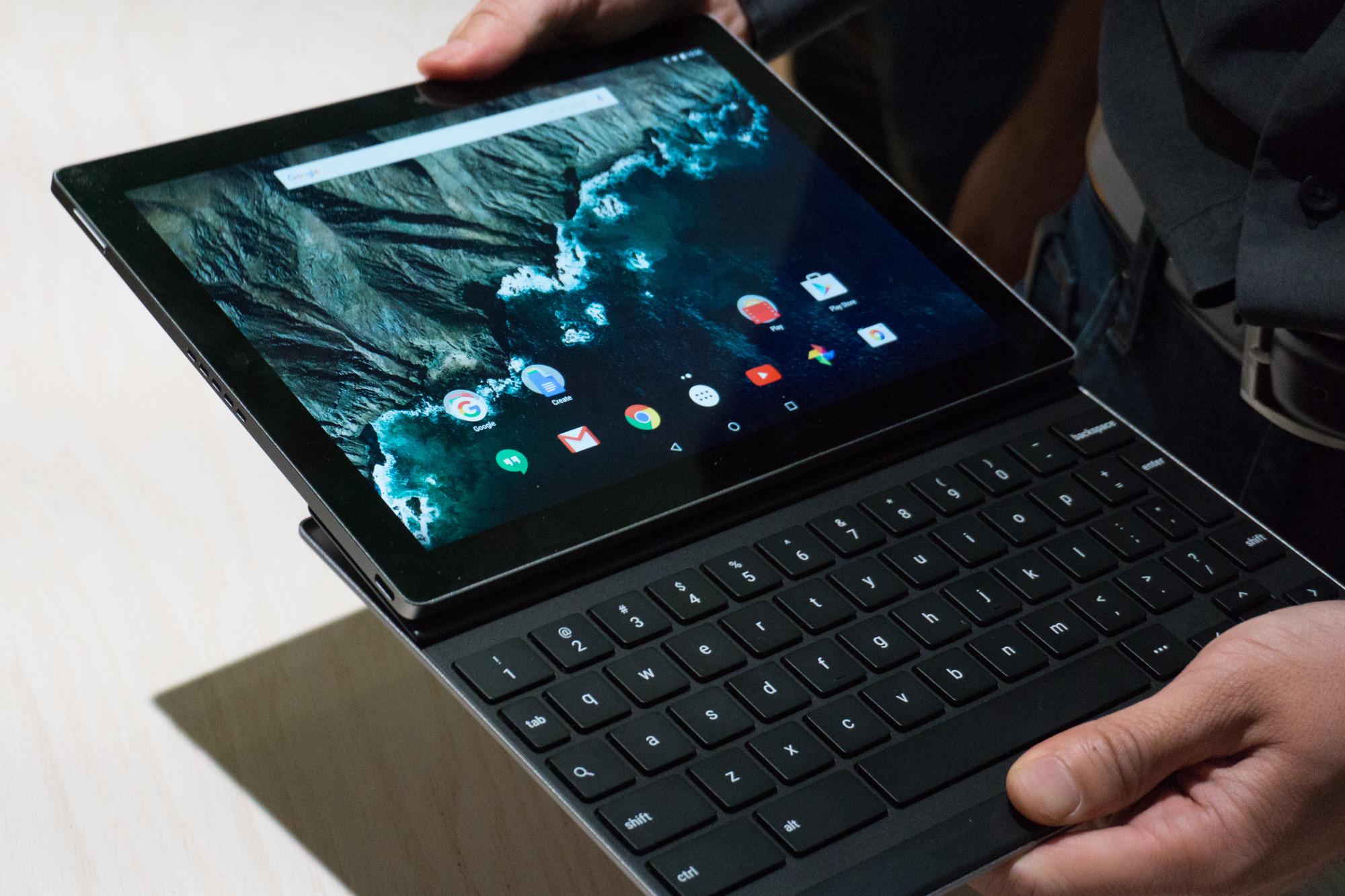 Google Pixel C Keyboard hands on