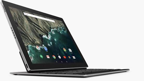 Google Pixel C Tablet With Keyboard Attached