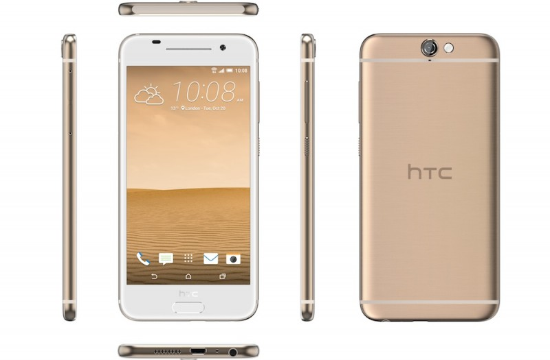 HTC-One-A9 in multiple colors