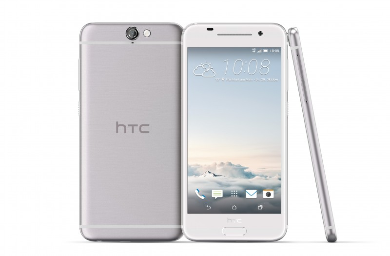 HTC-One-A9 in silver color