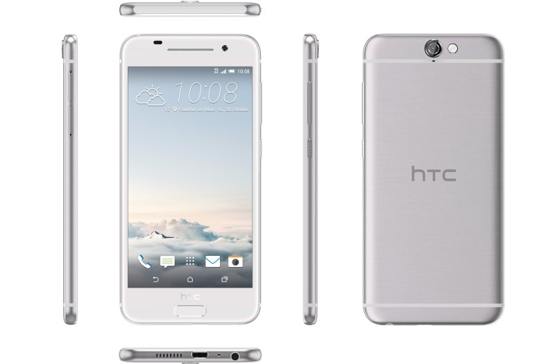HTC-One-A9 silver color dimensions