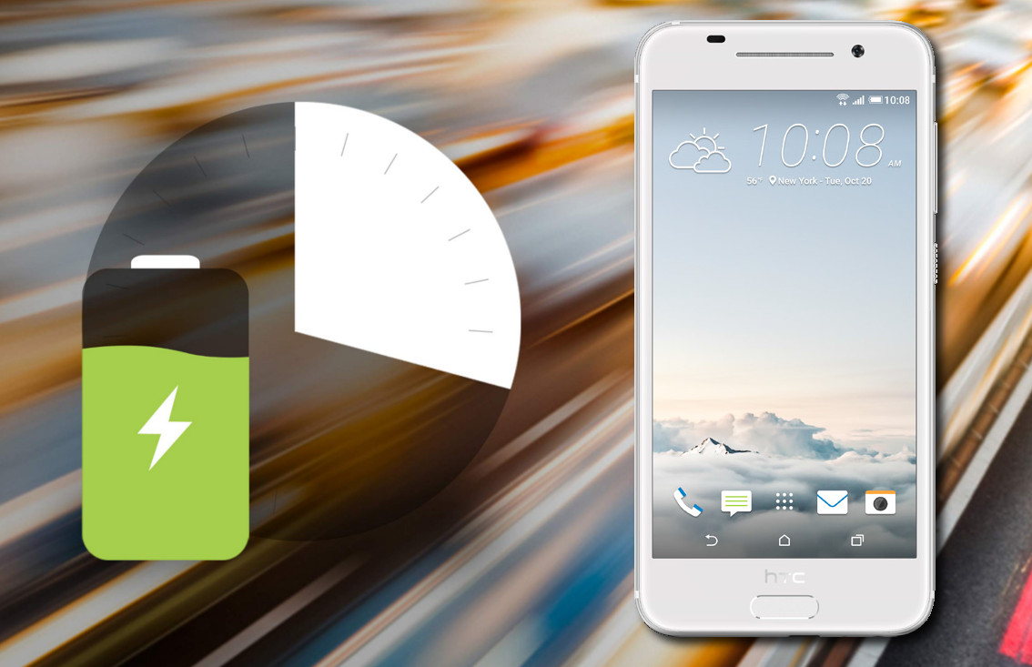 HTC One A9 supports Quick Charging
