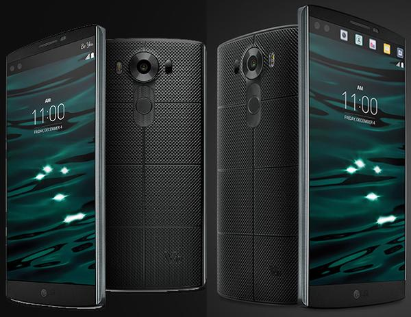 LG-V10 comes with dual camera on front