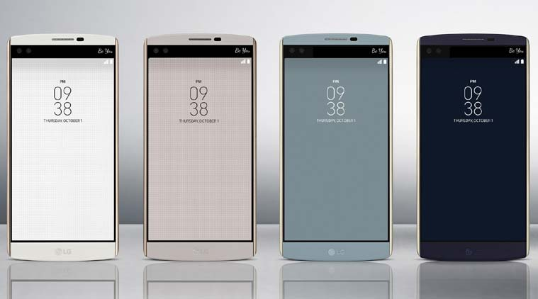LG V10 is available in 4 colors