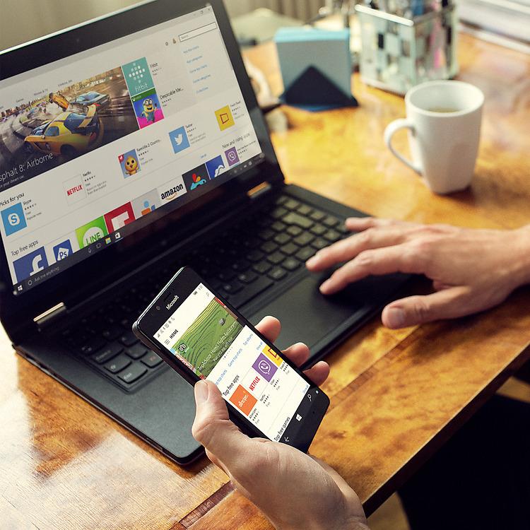 Microsoft Lumia 950 display