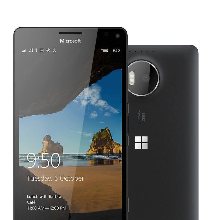 Microsoft Lumia 950 in black color