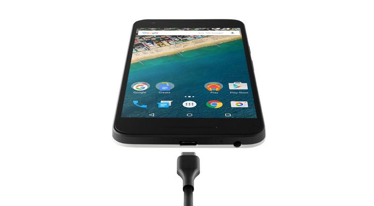 Nexus-5X comes with USB port