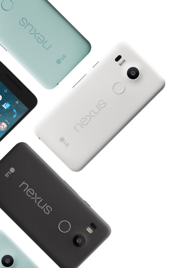 Nexus-5X side by side