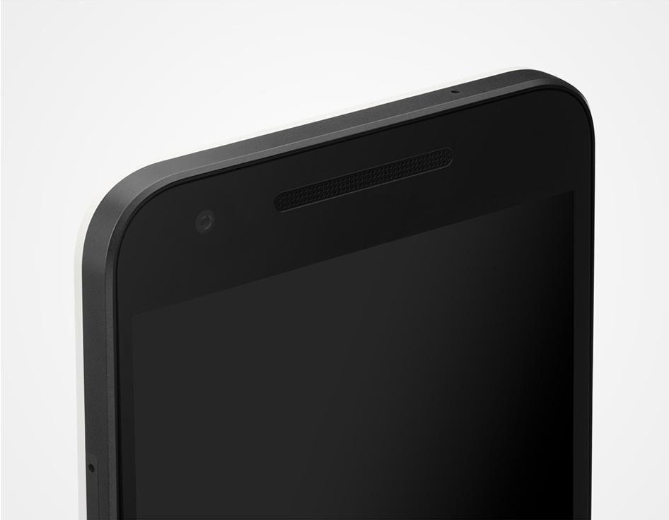 Nexus-5X top display
