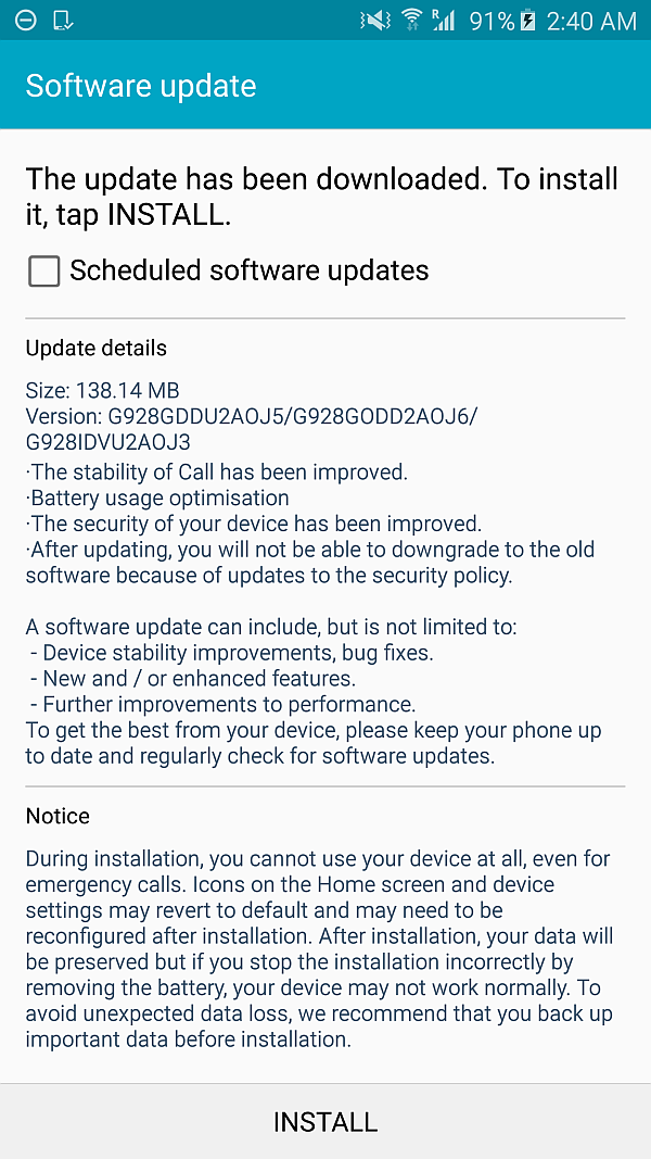 The-Samsung-Galaxy-S6-edge-gets-its-first-software-update