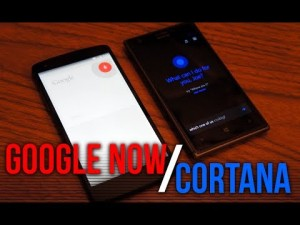 Google Now Vs Microsoft Cortana