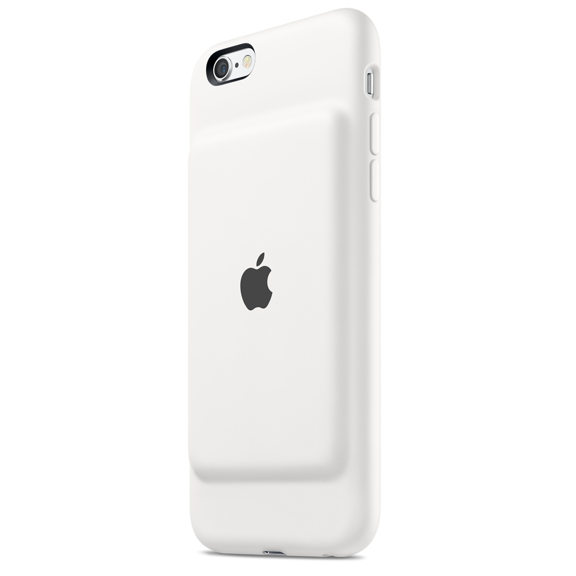 Apple iPhone 6S Smart battery case front and back view