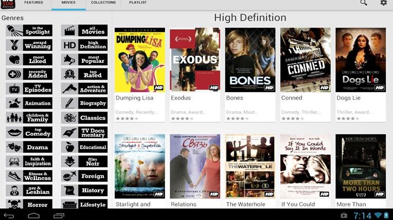 Android Movie Apps bigstar