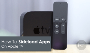 How to easily sideload apps using Xcode on Apple TV 4?