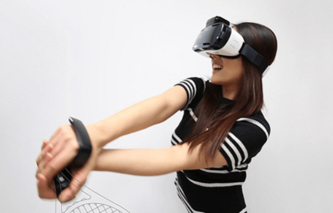 Hand-motion-controller-rink-for-VR