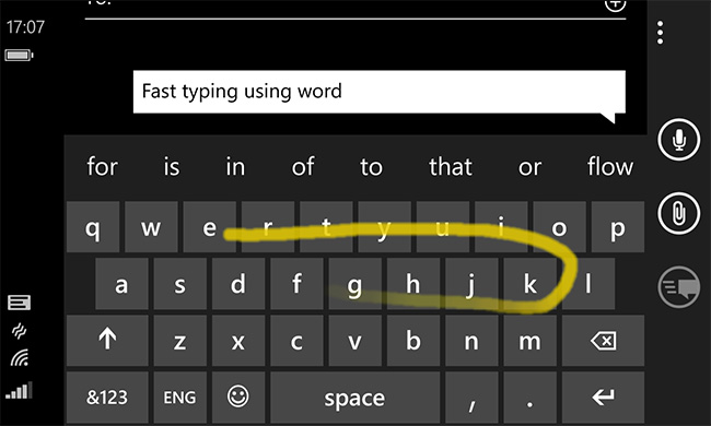 Microsoft-Word-Flow-for iOS and Android