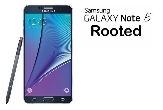 Samsung Galaxy Note 5 Rooted