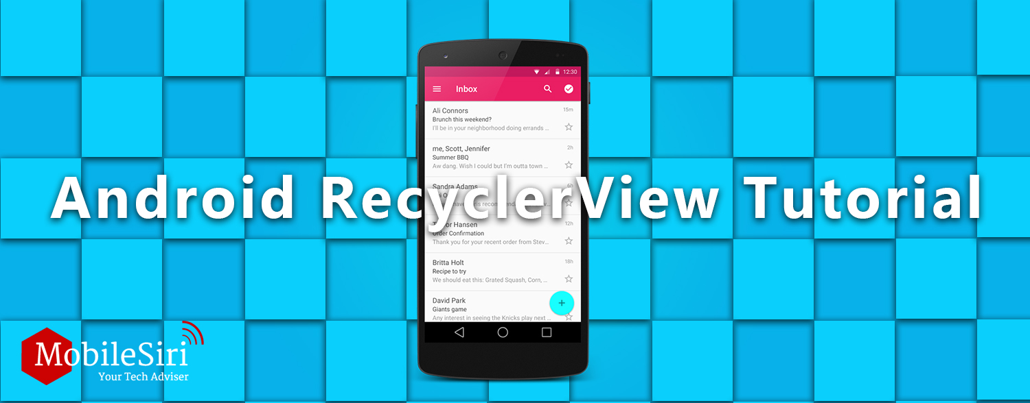 android-recyclerview-mobilesiri