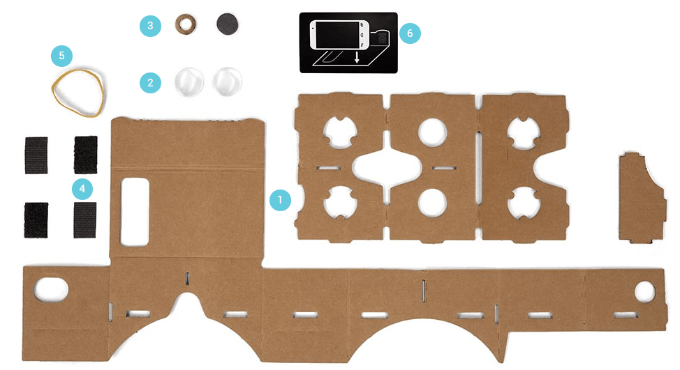 how to make a Google VR Cardboard yourself