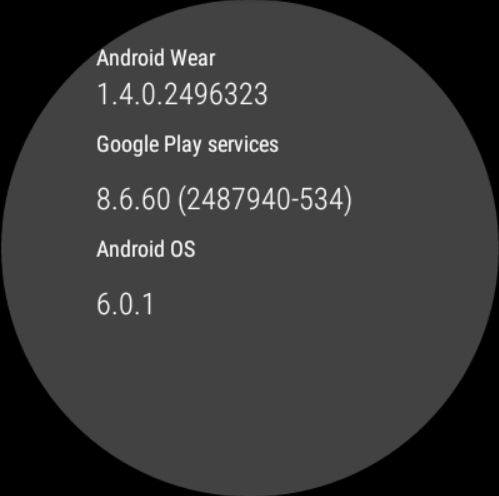 huawei watch Android Wear update