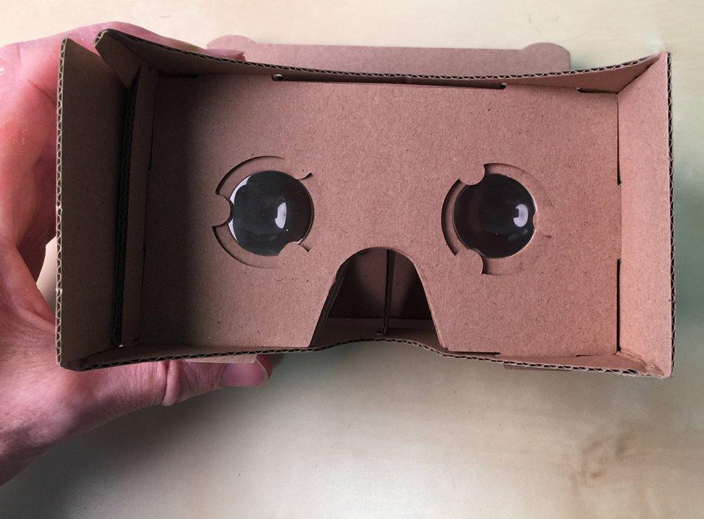 Google VR cardbaord DIY