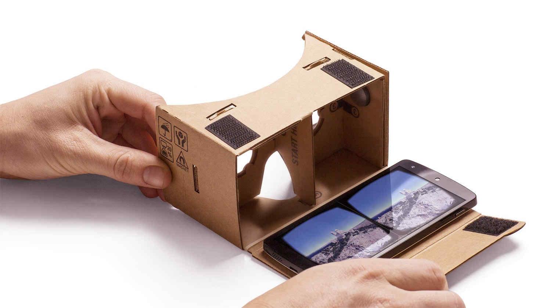 Google VR cardbaord on Android Phone