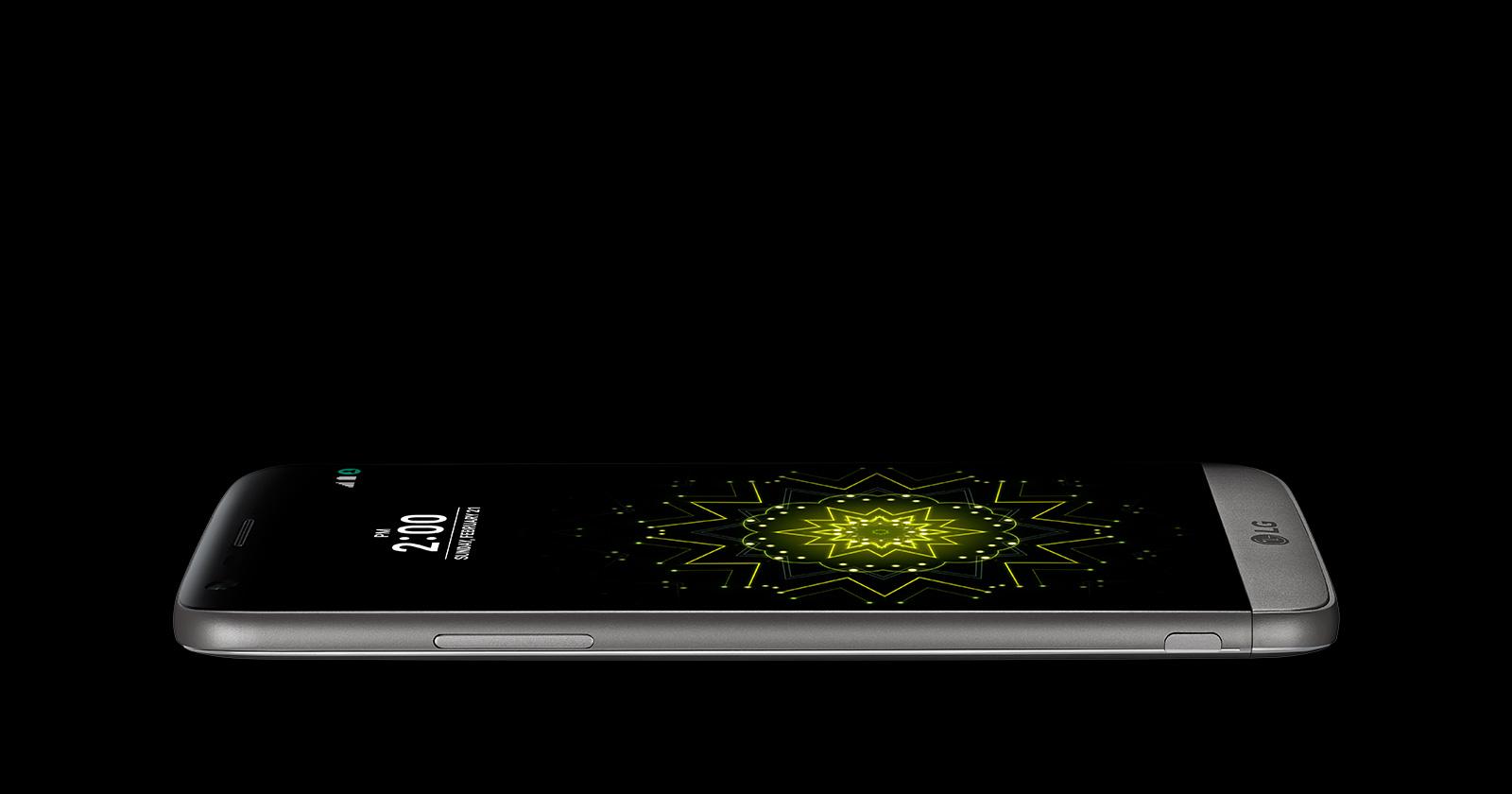 LG G5 review- G5 has a sleek design