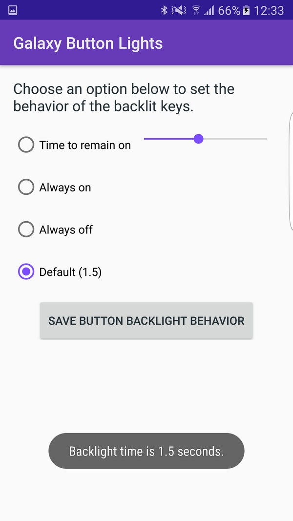 Capacitive Button Backlighting